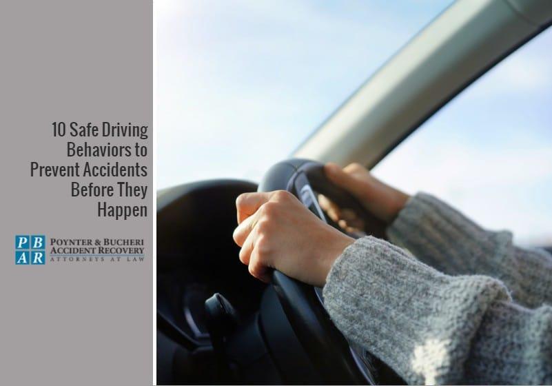safe driving behaviors