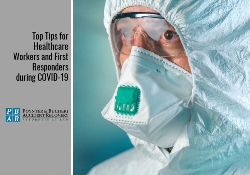 healthcare workers in coronavirus outbreak