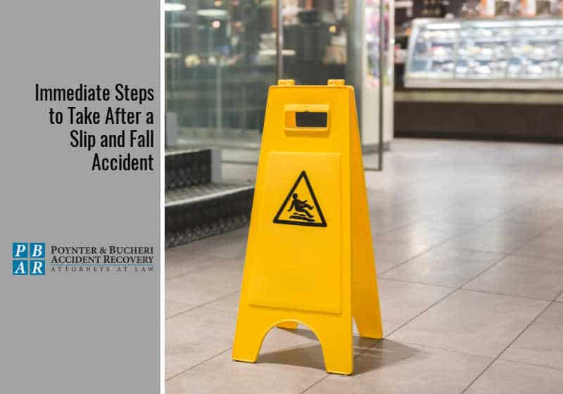 Immediate Steps to Take After a Slip and Fall Accident