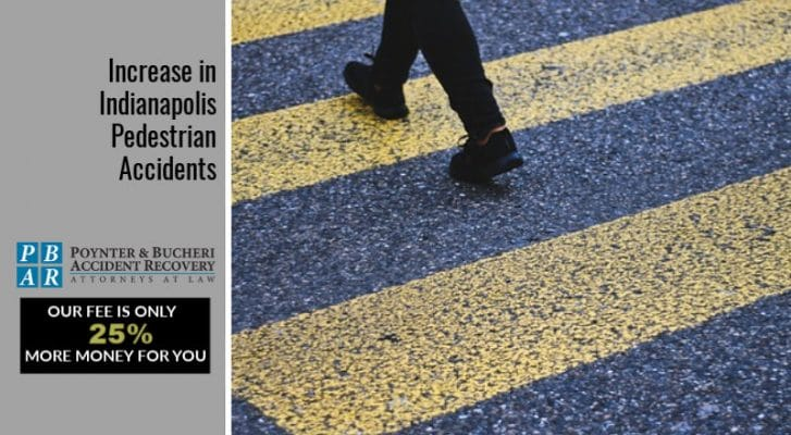 Increase in Indianapolis Pedestrian Accidents