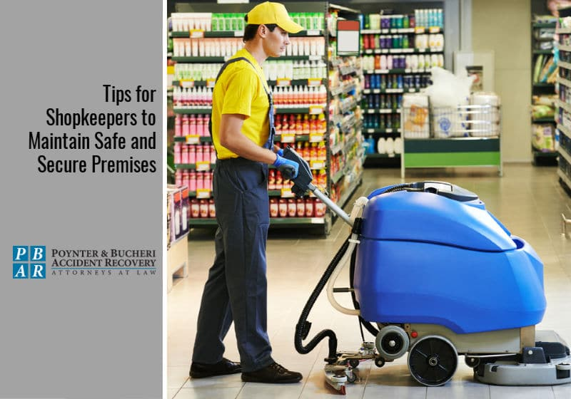 preventing slip and fall cases for shopkeepers