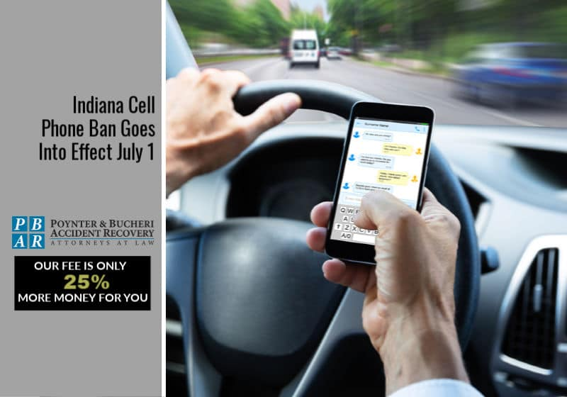Indiana Cell Phone Ban Goes Into Effect July 1