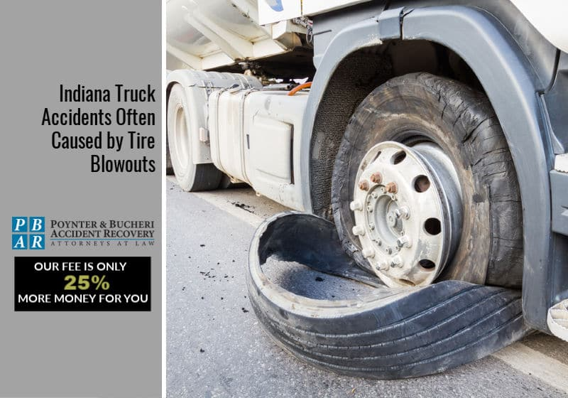 truck tire blowout causes auto accident