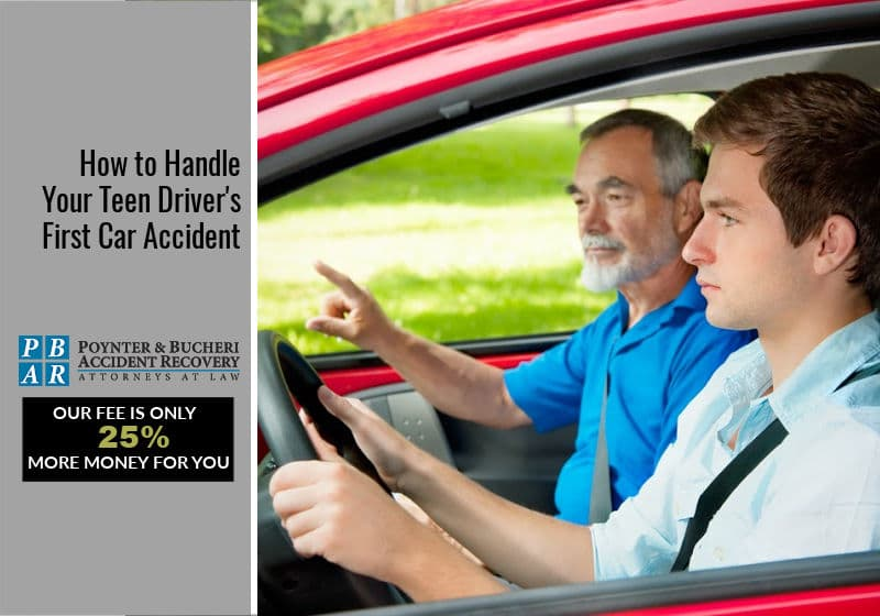 How to Handle Your Teen Driver's First Car Accident