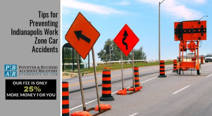 car accidents in road construction zones
