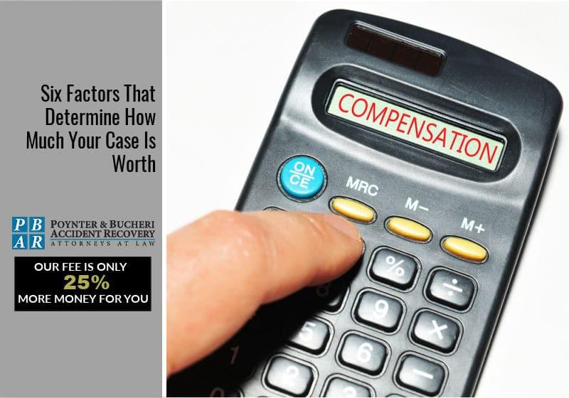 6 factors determining case worth