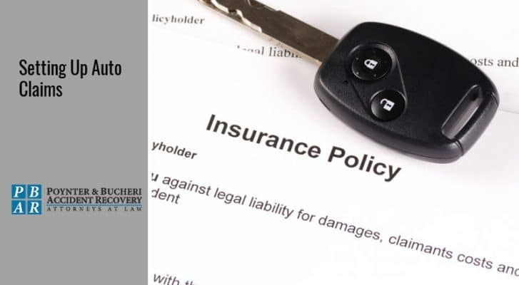 how to set up an auto insurance claim