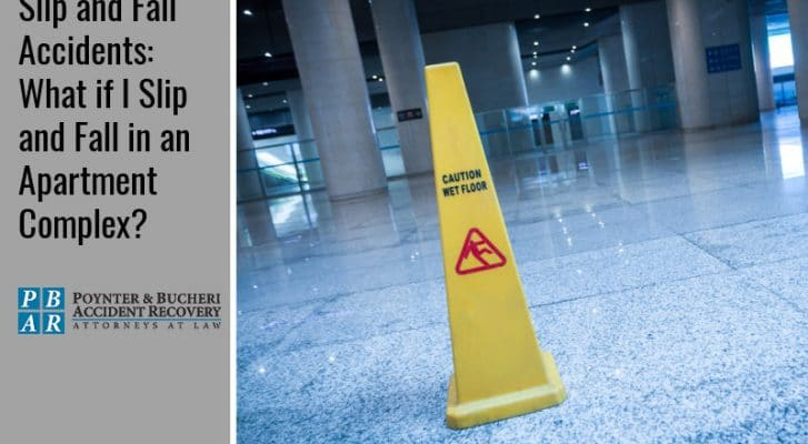 slip and fall accidents in apartment complexes