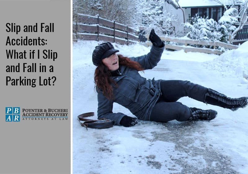 slip and fall accidents parking lots