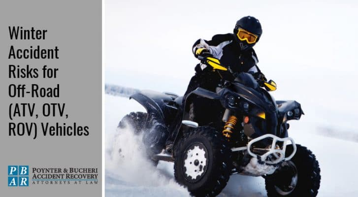 off road vehicle winter accidents