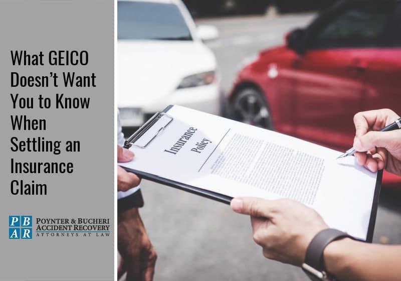 insurance claim with geico