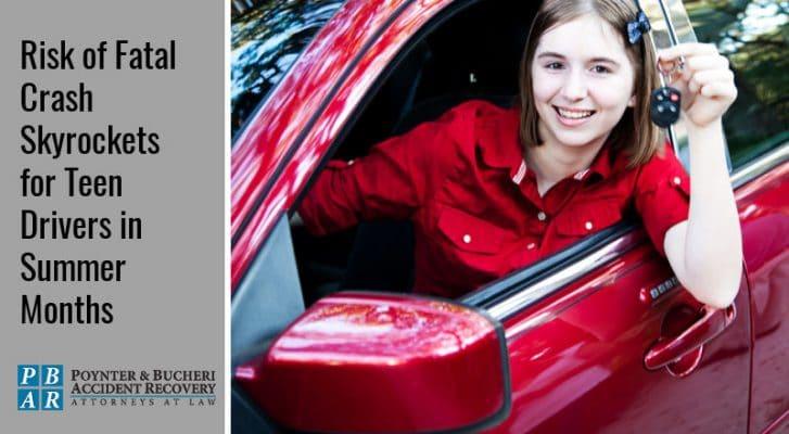 fatal crashes involving teen drivers